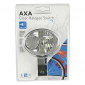 Koplamp Axa Clear Halogen Switch 10 lux naafdynamo