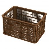 Krat kunststof Basil Crate L Saddle Brown bruin 50 liter