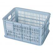 Krat kunststof Basil Crate S Silver Cloud 25 liter
