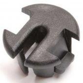 Kabeldoorvoer tule frame Batavus / Sparta Ion rond zwart