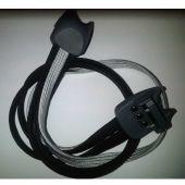 Snelbinders Gazelle New Edge zwart / zilver / zwart
