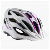 Helm Bontrager Solstice dames Mips white/purple (S/M 50-57cm)