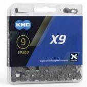 Ketting KMC X9 9v 114 schakels