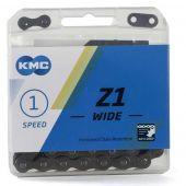 Ketting KMC Z1 Wide 1/2x1/8 BREED 112 Schakels (Bruin)