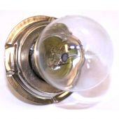 Lamp 12V 25W P26S met kraag