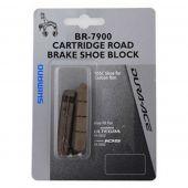 Remrubber Shimano Dura Ace BR-7900 R55C voor CARBON velg, paar