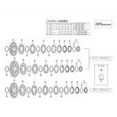 Tandkransje Shimano 10v 14T Ultegra CS-7800 / CS-6600 / CS-6700, ook Dura-Ace
