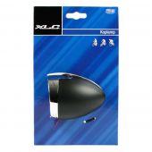 Koplamp XLC Hollands Classic mat zwart Aan / uit LED batterijen