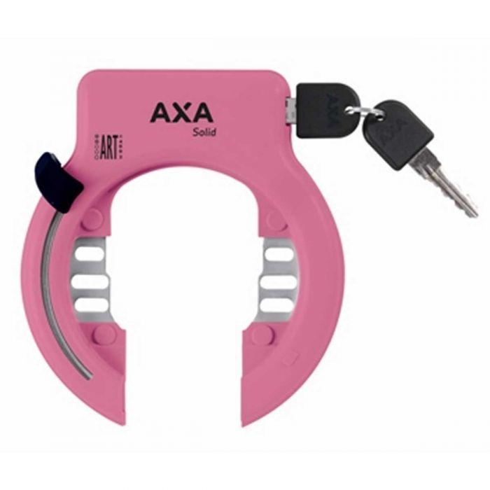 Ringslot Axa Solid Roze ART2