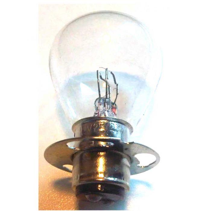Lamp 12V 25/25W P15D duplo met kraag