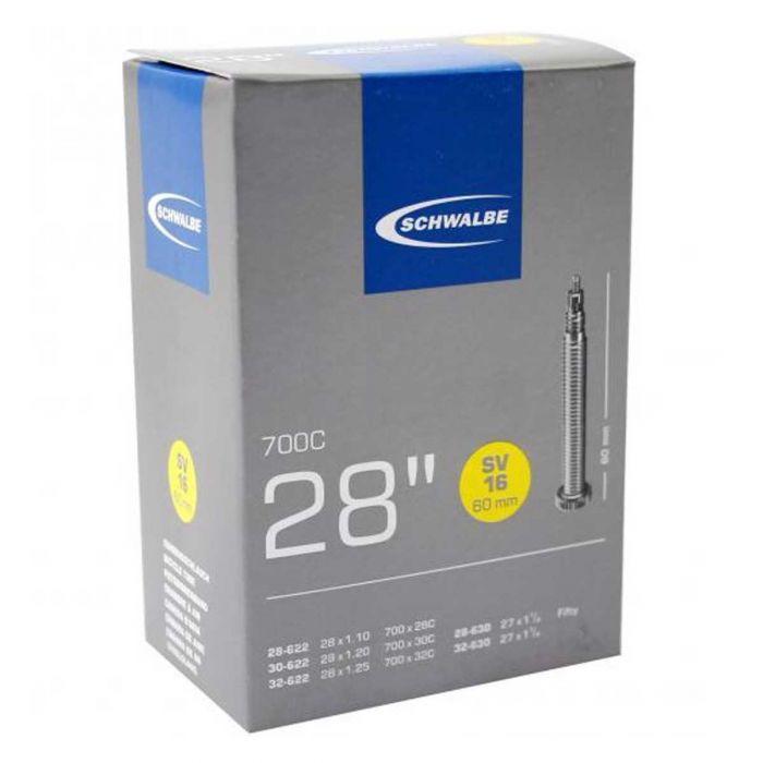 Binnenband Schwalbe SV15 28x3/4 28x1 18/28-622 Frans Ventiel 60mm