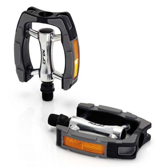 Pedalen XLC PD-C07 comfort zwart/grijs/aluminium (set)
