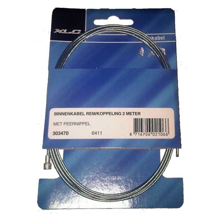 Remkabel / koppelingskabel XLC binnenkabel met peer nippel