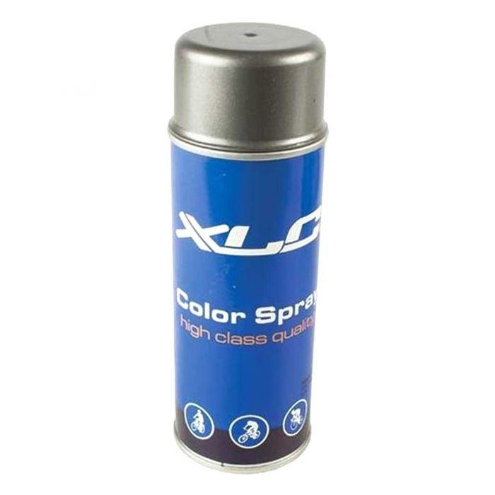 Spuitlak XLC grijs metallic spuitbus 400ml